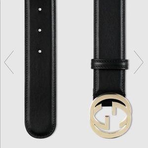 Gucci GG interlocking Belt Size 95